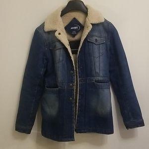 2/25$ Brody Sherpa Jean Jacket